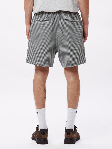 EASY RELAXED TWILL SHORT WHITE MULTI | OBEY Clothing