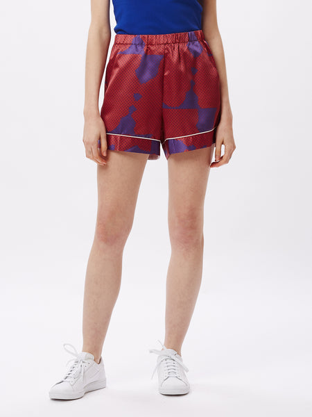 MAKEOUT SHORT PURPLE MULTI | OBEY Clothing