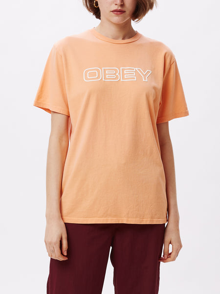 CEREMONY CHOICE TEE BRIGHT LEMON | OBEY Clothing