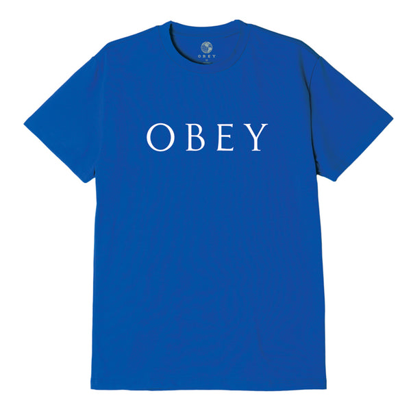 OBEY NOVEL 2 SUSTAINABLE TEE ROYAL BLUE | OBEY Clothing