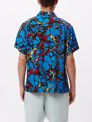 BOTCHED WOVEN BLUE MULTI | OBEY Clothing