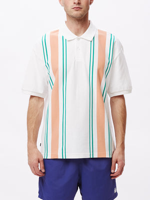 MAPS POLO SS WHITE MULTI | OBEY Clothing