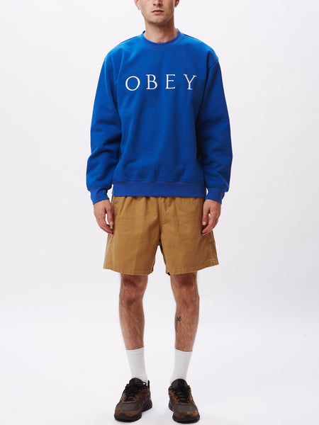 IDEALS SUSTAINABLE LOGO CREW | OBEY Clothing