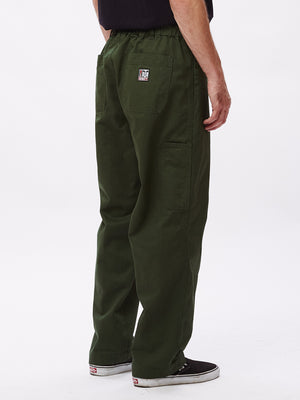 MARSHAL UTILITY PANT PARK GREEN | OBEY Clothing