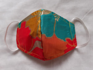 Printed Silk Casual mask