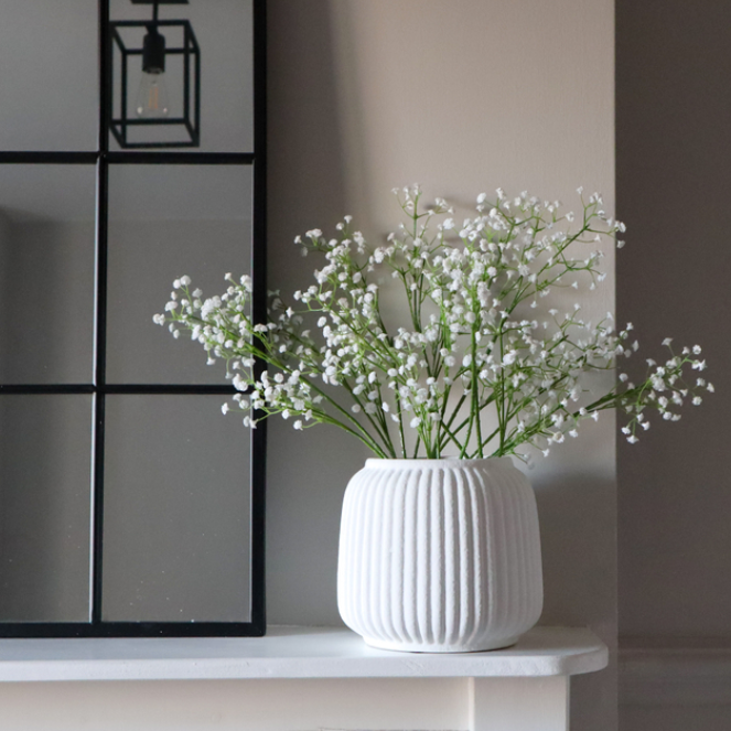 Faux Gypsophila Spray