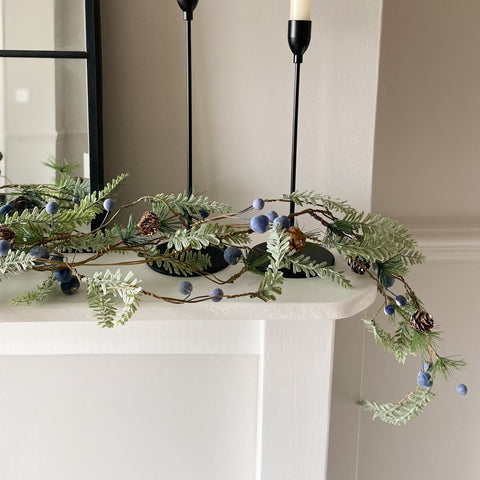 Blue Berry Garland