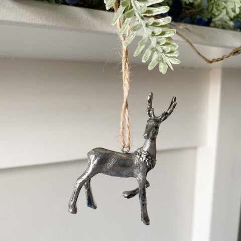 Hanging Reindeer Decoration