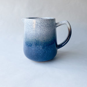 Speckled Blue Glaze Jug