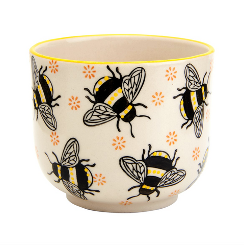 Bumble Bee Plant Pot