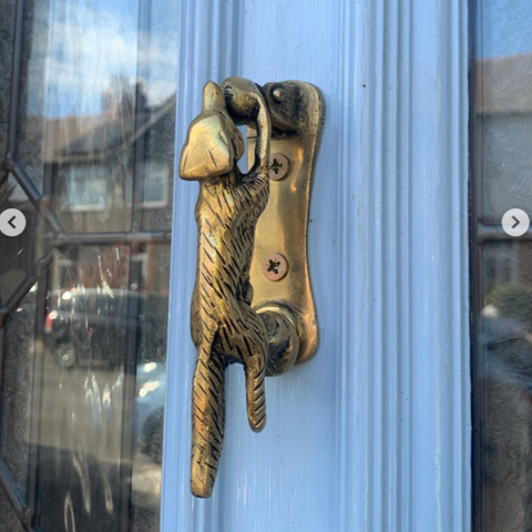 Fox Door Knocker