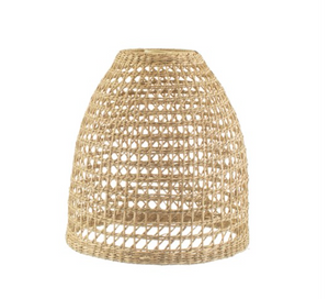 Woven Seagrass Lampshade