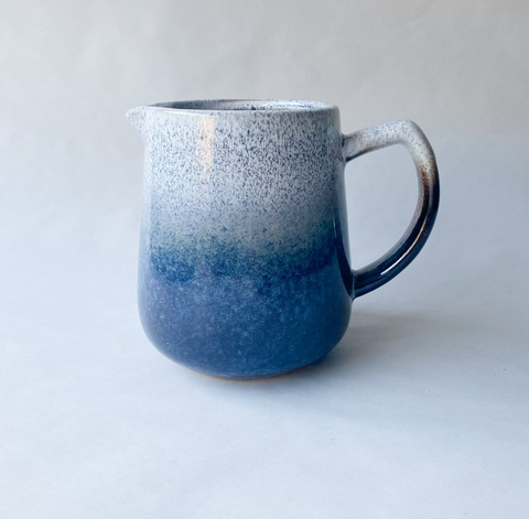 Perfectly Imperfect - Speckled Blue Glaze Jug
