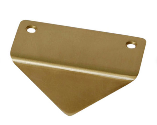 Brass Triangle Cabinet Handle