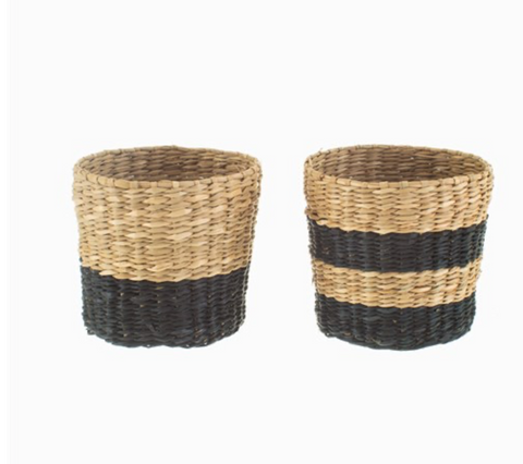 Mini Black Seagrass Planter