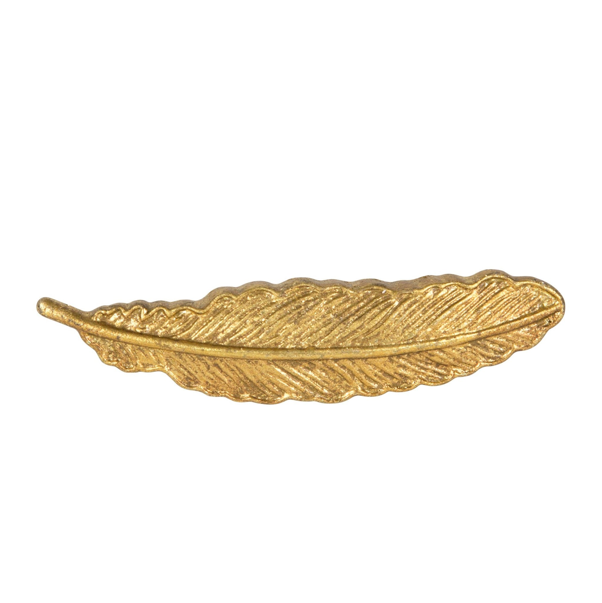 Golden Feather Vintage Drawer Knob Pull Handle