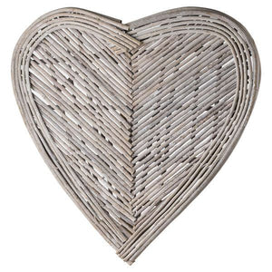 Rustic Heart Wicker Wall Art