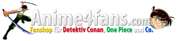Anime4fans Logo Fanshop for anime figures and more