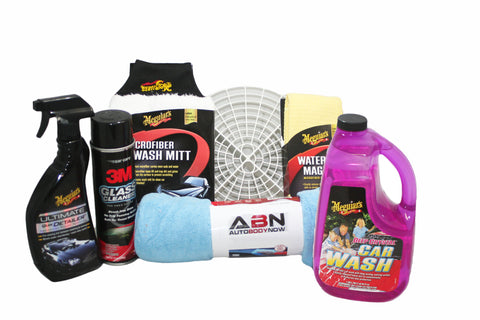 Car Care and Wash Kit