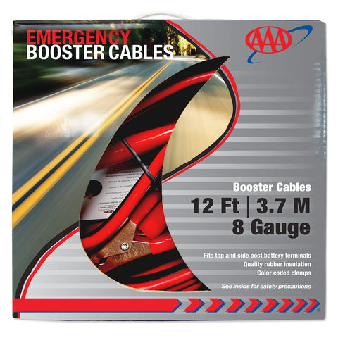 8-Gauge Booster Cables