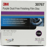 Finishing Film Discs Dust-Free Purple