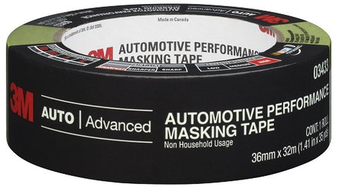 "3M 03433 Automotive Masking Tape 1.41"" x 35yds - Autobodynow.com"