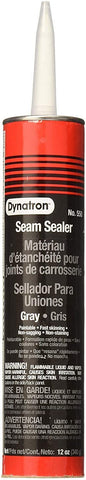 550 12 Pack 12 oz. Dynatron Auto Seam Sealer Caulk, Grey