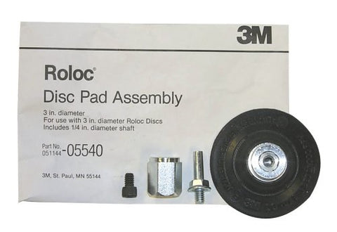 3 Inch Roloc Disc Pad Assembly