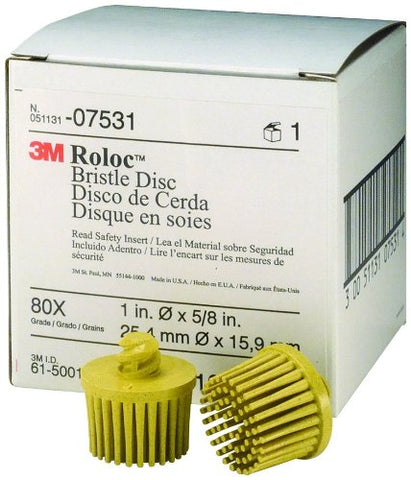 07531 Roloc Bristle Disc, Yellow