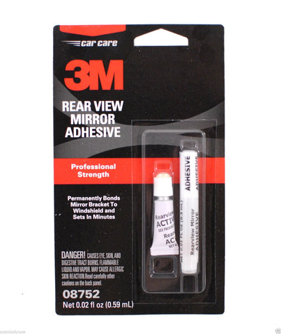 Rearview Mirror Adhesive, 3-Pack
