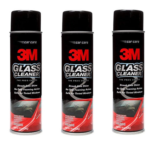 08888 Glass Cleaner 19 Oz, 3 Pack
