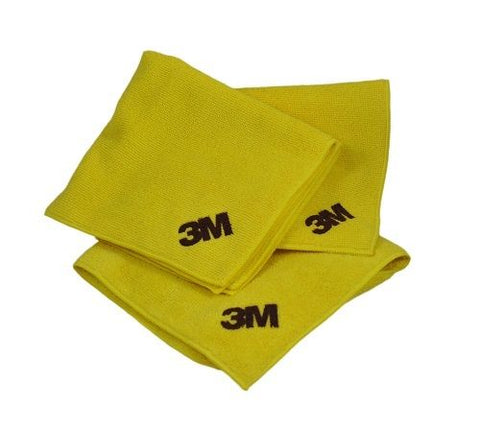 3M 06017 Microfiber Cloth (3 Pack) - Autobodynow.com