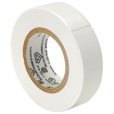Scotch White Color Coding Electrical Tape