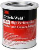 Rubber & Gasket Adhesive, Brown 1 Quart Can