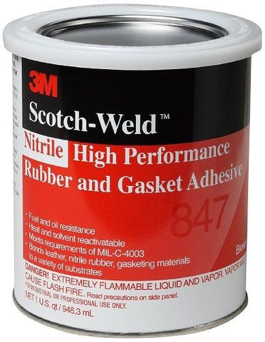 Rubber and Gasket Adhesive Brown
