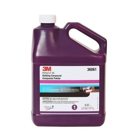 3M (36061) Perfect-It EX Rubbing Compound - Autobodynow.com