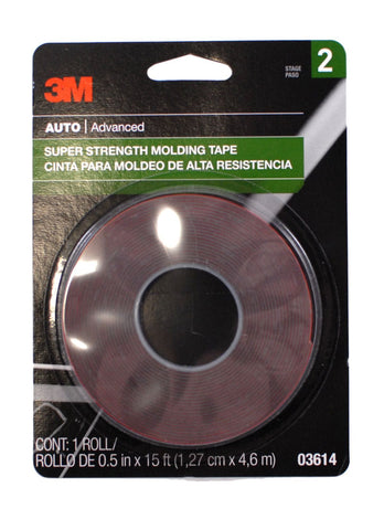 1/2 Inch x 15 ft Molding Attachment Tape