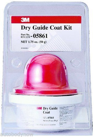 Dry Guide Coat Cartridge and Applicator Kit 50g