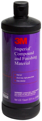 3M 06044 Imperial Compound and Finishing Material - 32 fl. oz. - Autobodynow.com