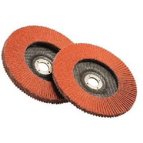 4-1/2 Inch x 7/8 Inch Flap Disc 40 Grip