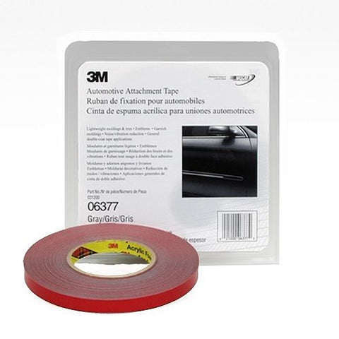 1/2 Inch x .76 mm Automotive Double Sided Attachment Tape