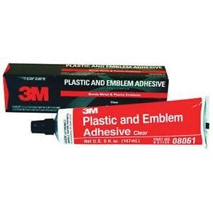 Emblem Adhesive Plastic and Metal