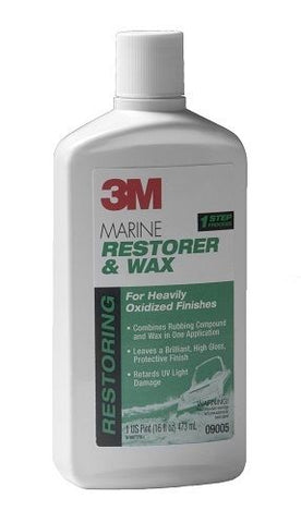 3M Marine Restorer and Wax (16.9 fl-Ounce) - Autobodynow.com