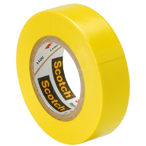 Scotch Yellow Color Coding Electrical Tape