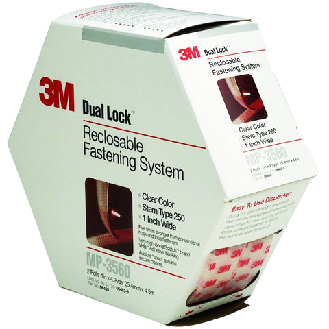 Dual Lock Reclosable Fastener