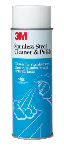 3M 14002 Stainless Steel Cleaner and Polish, 21 oz. - Autobodynow.com