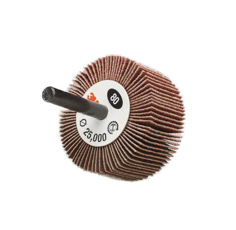 Coated Aluminum Oxide Flap Wheel - 80 Grit
