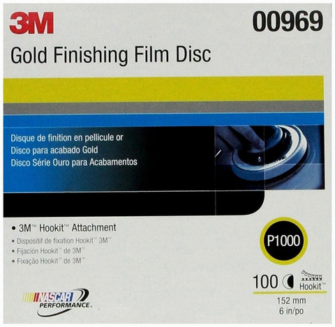 6 Inch P1000 Finishing Film Disc