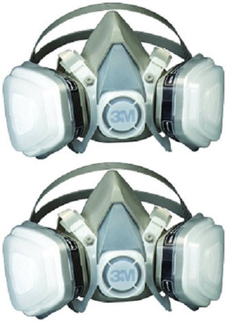 Dual Cartridge Paint Spray Respirator