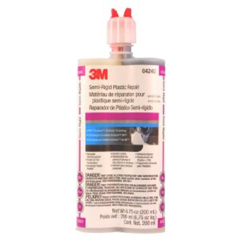 3M 04240 Semi-Rigid Plastic Repair - 200 ml - Autobodynow.com
